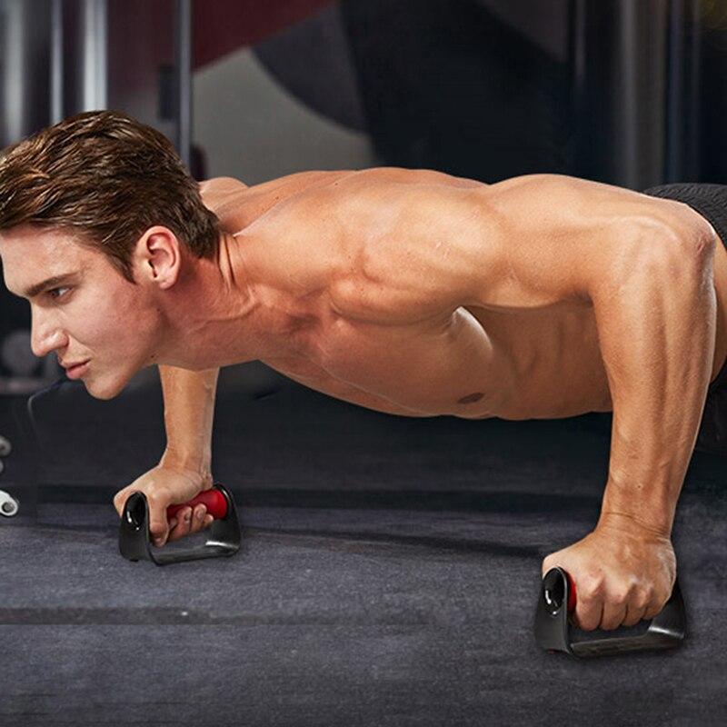 Soporte Push-up, dispositivo de entrenamiento para Fitness, equipo de entrenamiento muscular para gimnasio, Push-ups, ejercicio de agarre, entrenador de músculos para el pecho