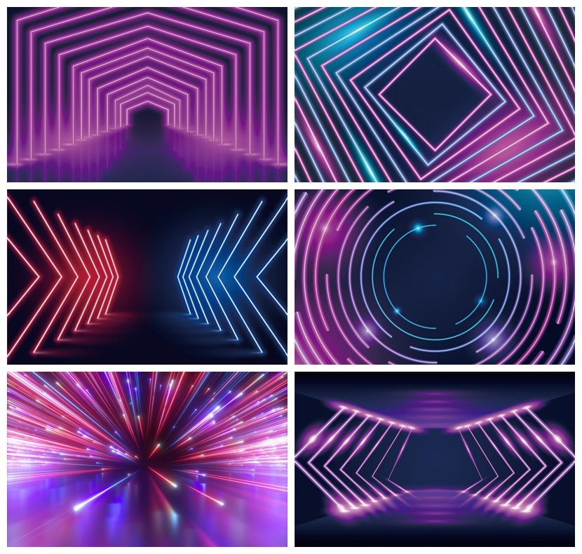 Laeacco Fluorescent Aperture Stage Scene Photo Backdrops Photography Backgrounds Baby Birthday Photocall For Photo Studio Props laeacco lollipop candy bar dessert donut baby birthday photography backdrops customize photographic backgrounds for photo studio
