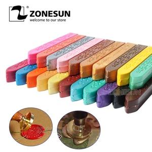 ZONESUN Wax Sealing set Seal Stamp for vintage craft Envelope Wedding Wax seal Ancient Sealing Wax stamp Making Tools