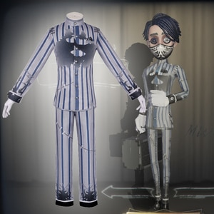 Game Identity V Cosplay costumes Survivor Embalmer,Aesop Carl Cosplay Costume Rorschach Physician Skin Uniforms Suits Cloth Hot