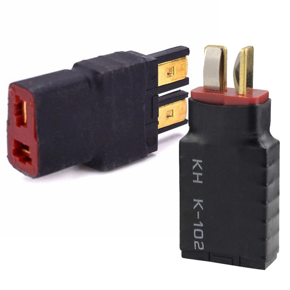 1 unidad macho t-plug Deans a hembra TRX Traxxas adaptador de conector para batería RC ESC y cargador