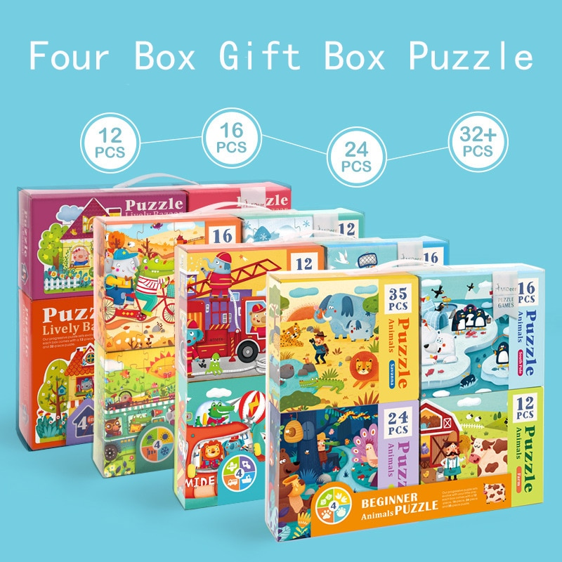 kids Educational toys Diy Puzzle Toy  toys for children For children Gifts jigsaw puzzle Birthday Gift недорого