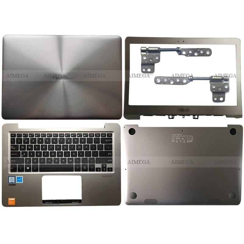 NEW Laptop LCD Back Cover/Front Bezel/Hinges/Palmrest/Bottom Case For ASUS ZenBook UX330 UX330U UX330UA UX330C UX330CA U3000