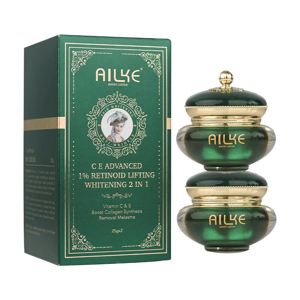 AILKE Retinol Glowing Anti-age Cream, Suitable For Black And Dark & Brown Skin, Brighten Skin Tone,