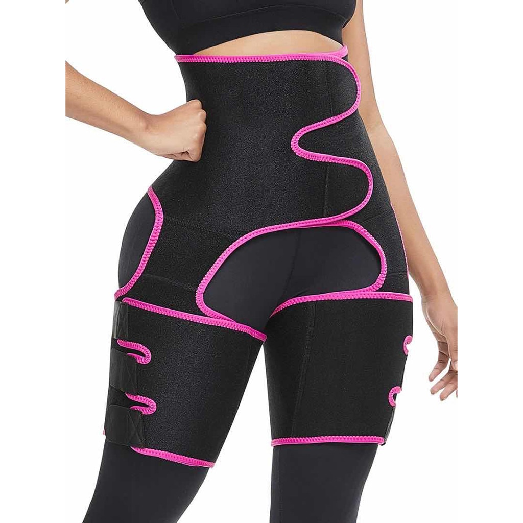 Señora DE ALTA cintura Control bragas Hip cinturón Burst en deportes ajustable Siamés cuerpo Shaper Legging adelgazamiento Shapewear # g2