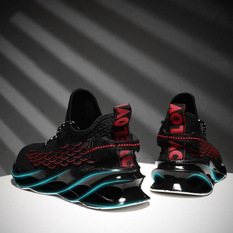 Новые уличные мужские беговые кроссовки для мужчин, спортивная обувь для бега и прогулок, высококачественные дышащие кроссовки на шнуровке