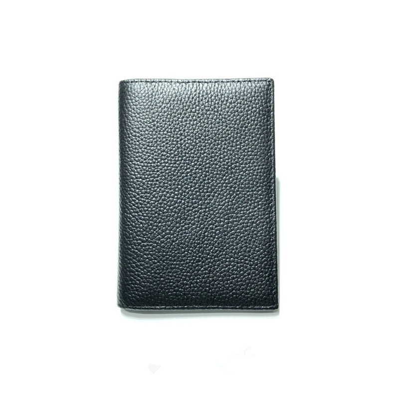 Aaby Travel Accessories 100% Genuine Leather Passport Holder Ultrathin Card& ID Cover Unisex