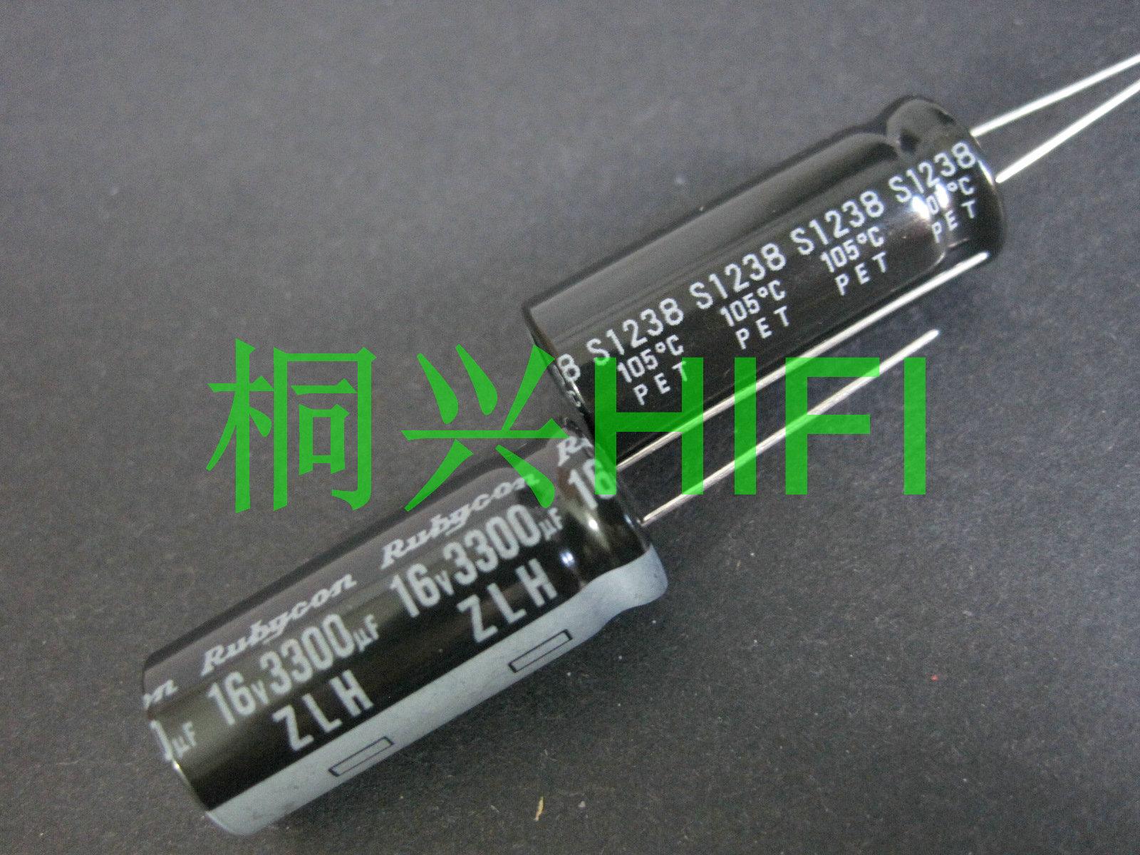 20 piezas nuevo RUBYCON ZLH 16V3300UF 12,5x30mm 105 grados 3300UF/16V alta frecuencia de baja resistencia y larga vida zlh 3300UF 16V