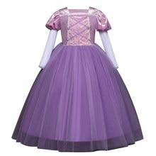 Meisje Jurk Kids Fancy Prinses Jurken Voor 3-10 Jaar Meisje Kleding Kinderen Verjaardag Cosplay Kostuum