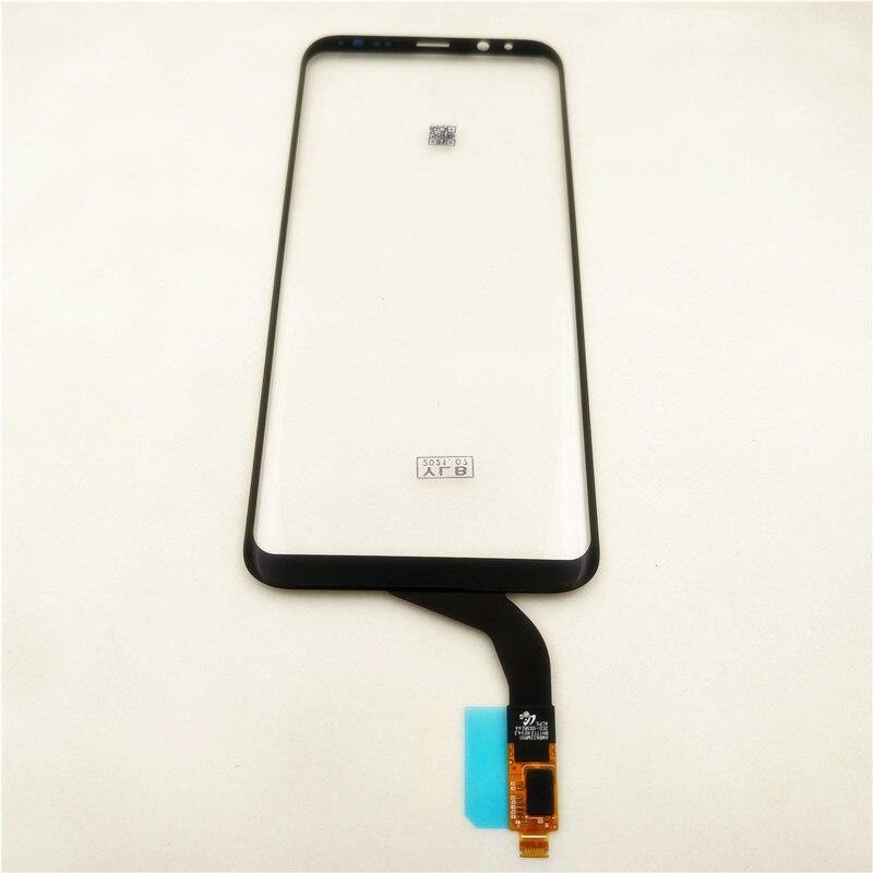 الأصلي 6.2 بوصة شاشة تعمل باللمس لسامسونج غالاكسي S8 زائد G955 G955F شاشة تعمل باللمس محول الأرقام الاستشعار إصلاح أجزاء