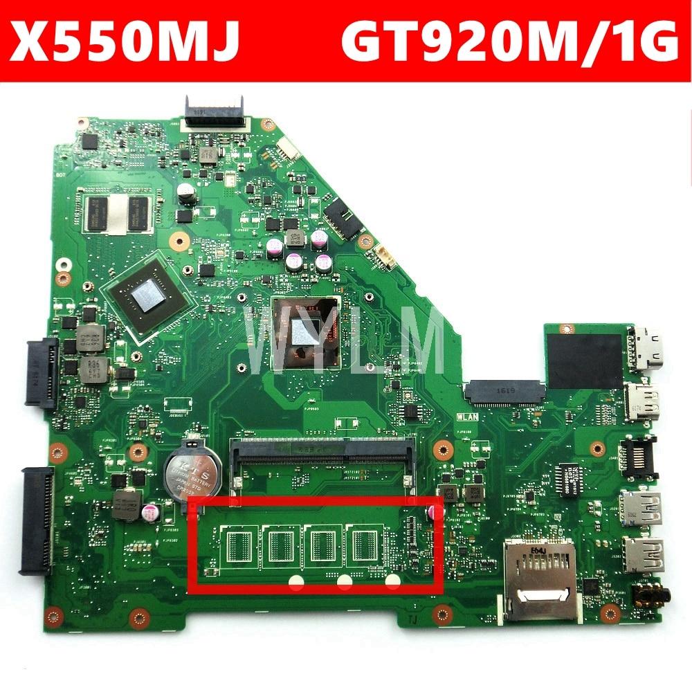X550MJ GT920M/1GB N2840CPU دون RAM اللوحة REV2.0 ل ASUS X550M X550MD X550MJ X552M Y582M K550M اللوحة المحمول