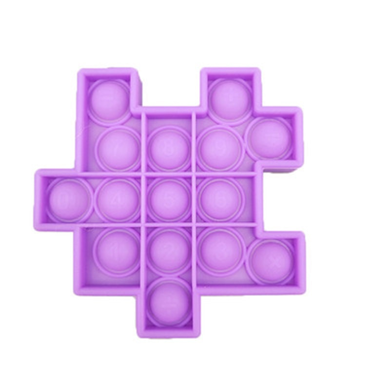 Fidget Relieve Stress Toys Pops it Cube Model Bubble Antistress Toy Adult Children Sensory Silicone Puzzle Squeeze GIFTS enlarge