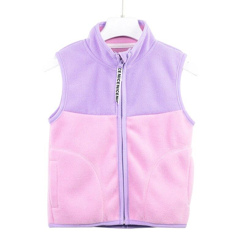 Chaleco cálido VIDMID para niñas, chaleco de lana grueso para niños, abrigo de hombro para Niñas para primavera y otoño P15