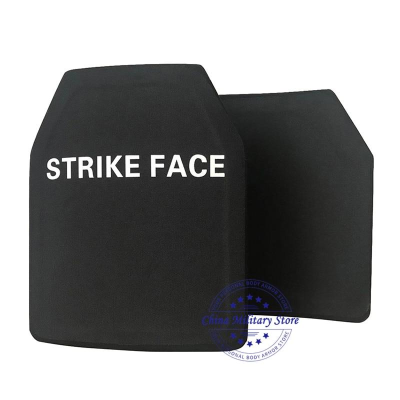 10*12 بوصة خفيفة الوزن 1.45 كجم STA NIJ Level III PE لوح مضاد للقذائف درع للجسم لوحات المستوى 3 M80 لوحة مضادة للرصاص العسكرية