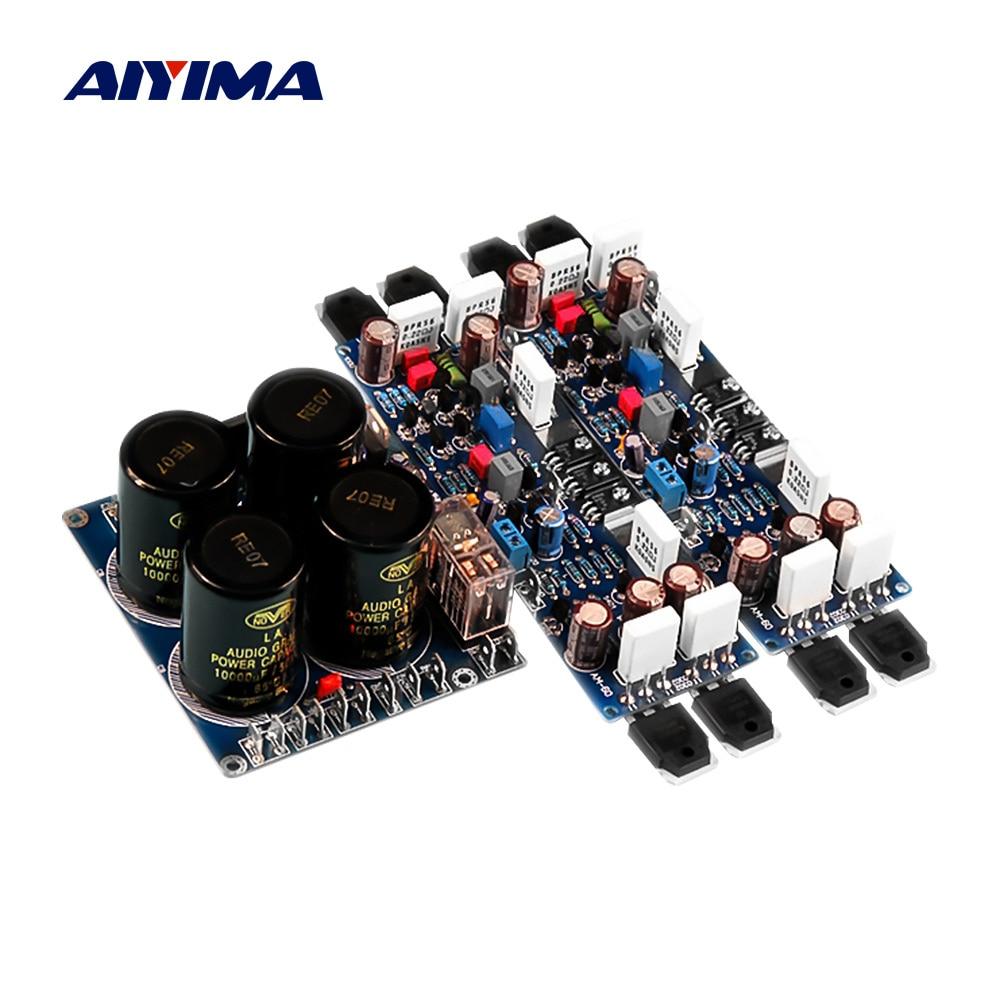 AIYIMA-لوحة مضخم الطاقة HIFI ، مضخم صوت استريو 150Wx2 قابل للتعديل للفئة A ، لوحة الصوت ، مكبرات الصوت