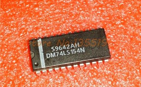 10pcs/lot 74LS154 DM74LS154N SN74LS154N DIP-24