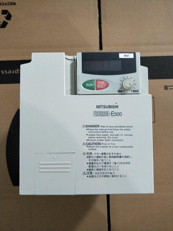 FR-E540-1.5K-CHT 1.5KW 380 فولت العاكس ، تستخدم واحدة ، 90% مظهر جديد ، اختبار السلع ، شحن مجاني