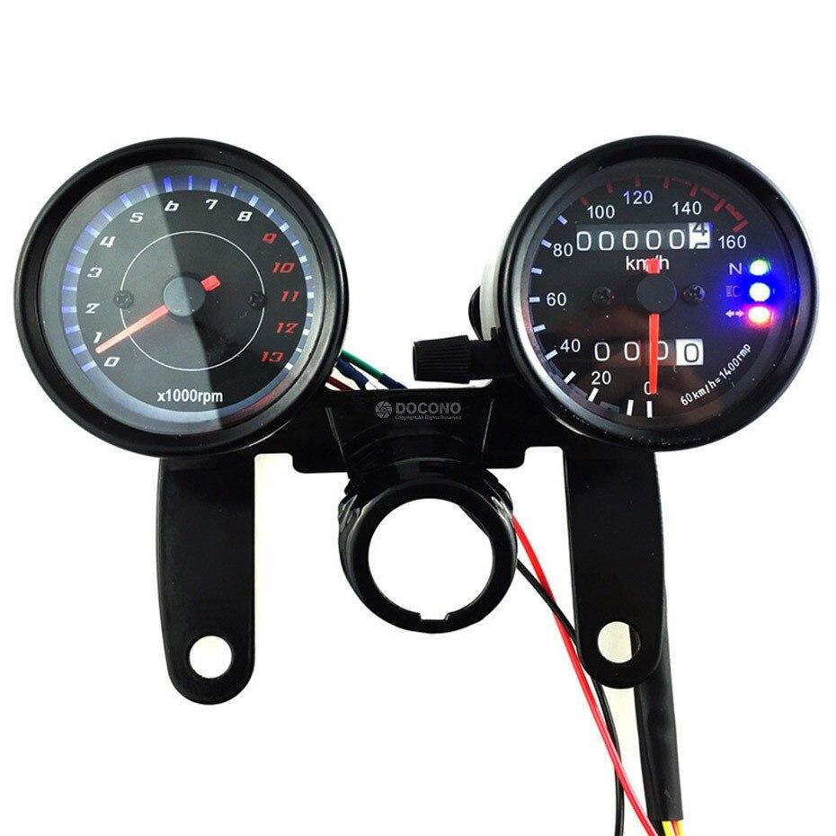 Velocímetro de motocicleta, odómetro, luz LED de fondo, tacómetro para SUZUKI gsx-r600, intrusión de gsx-s750, para YAMAHA yzf r3 yzf-r1 ybr 150