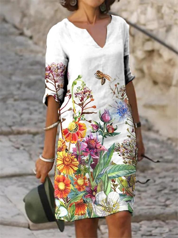 Платья больших размеров, элегантные женские платья, модные свободные платья для дам
