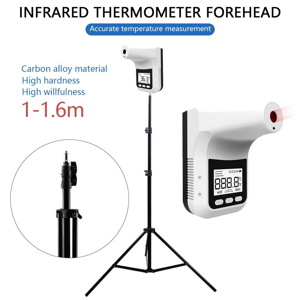 Termómetro detector infrarrojo automático sin contacto, termómetro para escuela, centro comercial, supermercado, edificio de oficinas, lugar público