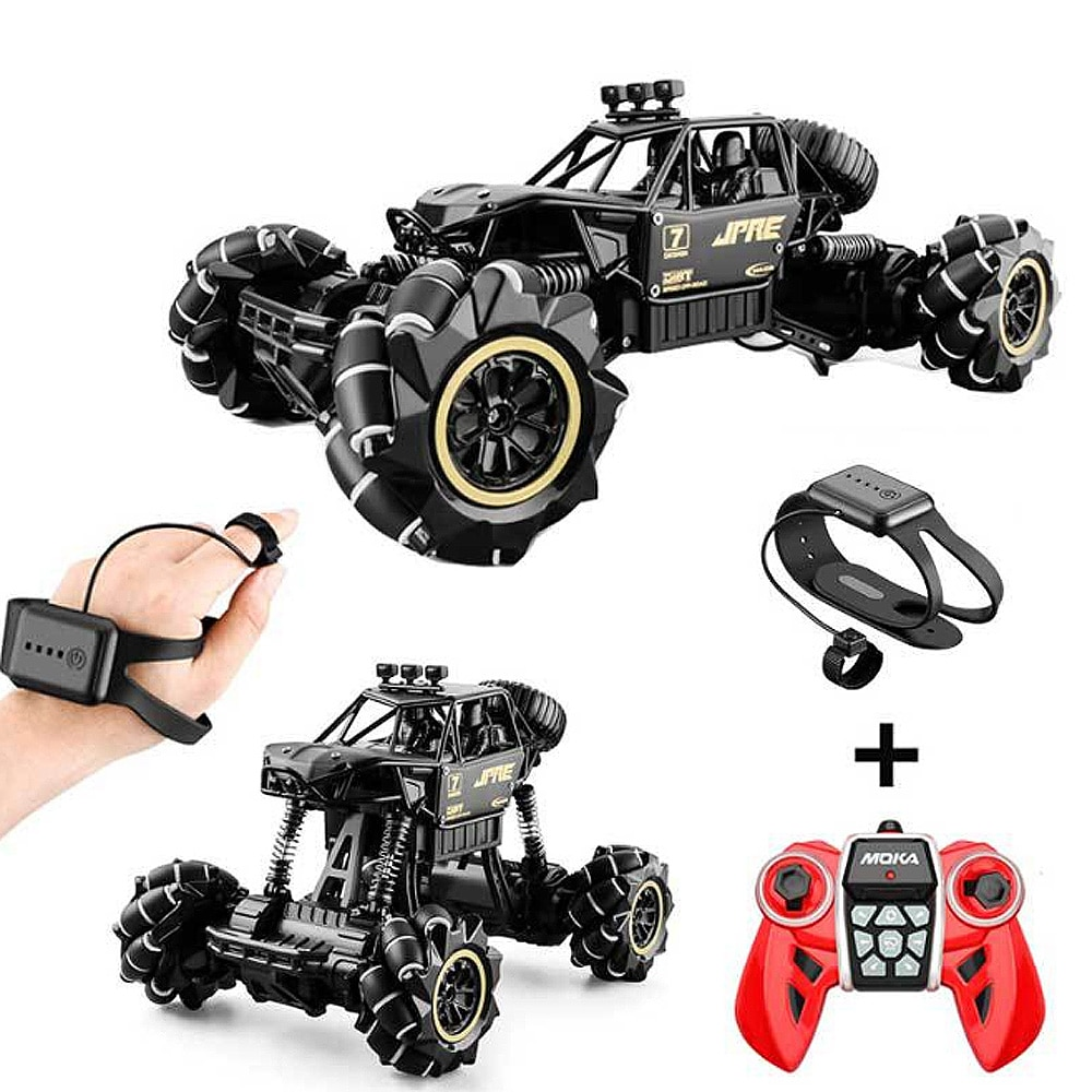 1:16 Rc Cars 4wd Watch Control Gesture Induction Remote Control Car Machine For Radio-controlled Stunt Car Toy Cars RC Drift Car remote control rc stunt car