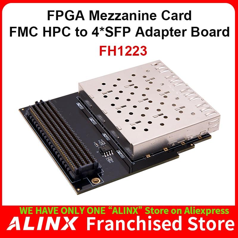 ALINX FH1223: HPC Interface to SFP Optical Fiber Interface Adapter Board  FMC Daughter Board for FPGA  Kit