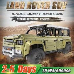 Крутейший Land Rover из лего на более чем 2500 тысячи деталей, собирается своими руками