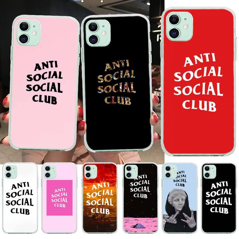 Funda de teléfono PENGHUWAN, bonita y ostentosa para club social, para iPhone 11 pro XS MAX 8 7 6 6S Plus X 5S SE XR