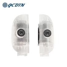Qcdin Voor W220 R230 Led Auto Welkom Light Deur Logo Projector Licht Voor S-Klasse W220 Sl-klasse R230