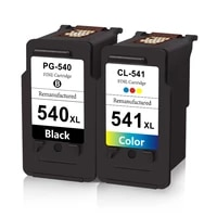 sansemei for canon pg 540xl cl 541xl ink cartridges pg540 cl541 replacement for canon pixma mg2100 mg3500 mg4250 mx475 mx525