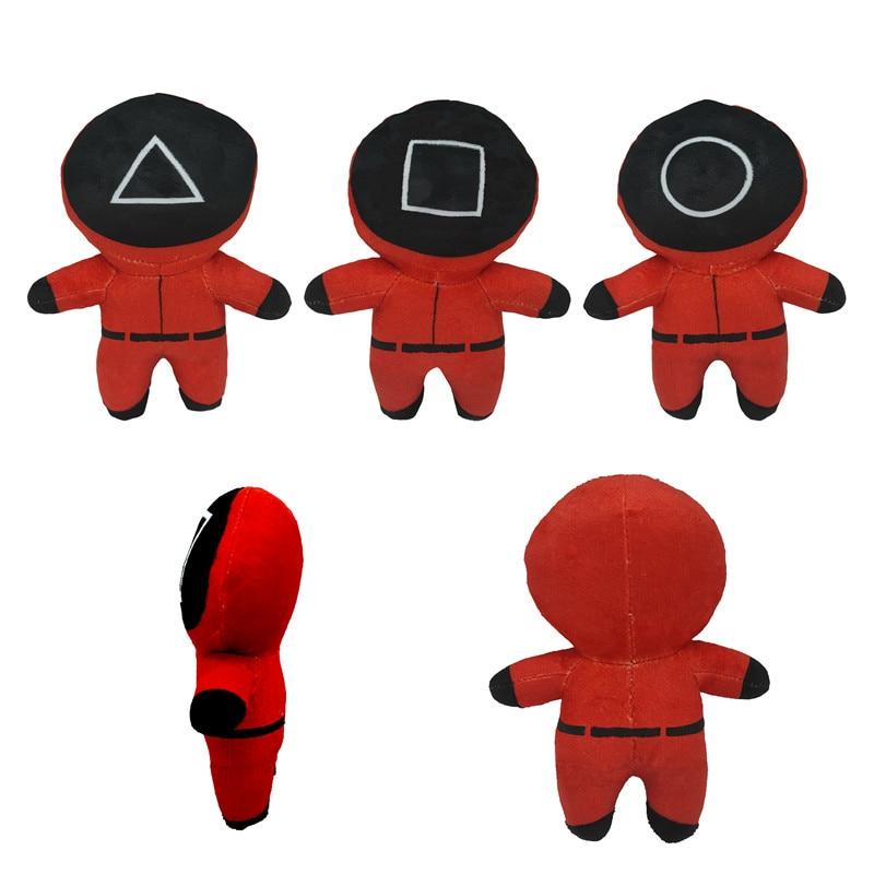 2021 1pcs umpsuits Squid Game Plush toy Child Kids Game Battle Squidgamer Novelty Throw Blanket for Home Plush