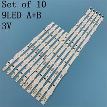 10pcs new D4GE-400DCB-R2 original 9LED strip Circuits D4GE-400DCA-R2 D4GE-400DCB-R1 D4GE-400DCA-R1 FOR UE40H5500AY