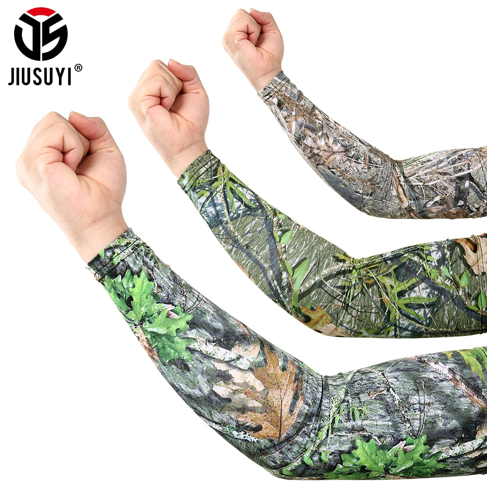 1pcs arm guard smooth arm cover outdoor cycling sleeves fashion 3d tattoo printed arm warmer more style sun protection sleeves Outdoor Sports Arm Sleeves Men Bicycle UV Protection Oversleeve Running Skiing Cycling Sunscreen Arm Warmer Sun Arm Cover Cuff