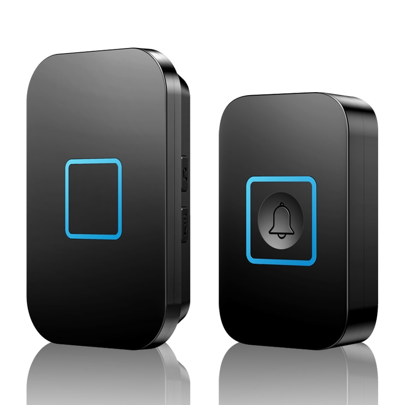 CACAZI-timbre inalámbrico inteligente para el hogar, campanilla a prueba de agua con...