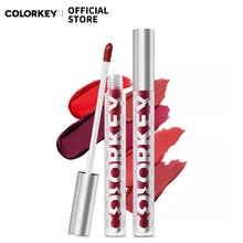 Colorkey 18 Colors Liquid Velvet Lip Gloss Glaze Lipstick Waterproof for Makeup Long Lasting Cosmeti