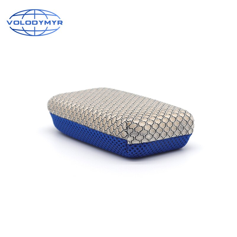 Car Wash Sponge Washing Tools Blue Microfiber Pad with Mesh Super Absorbent for Auto Car Cleaning Clean Detailing Detail