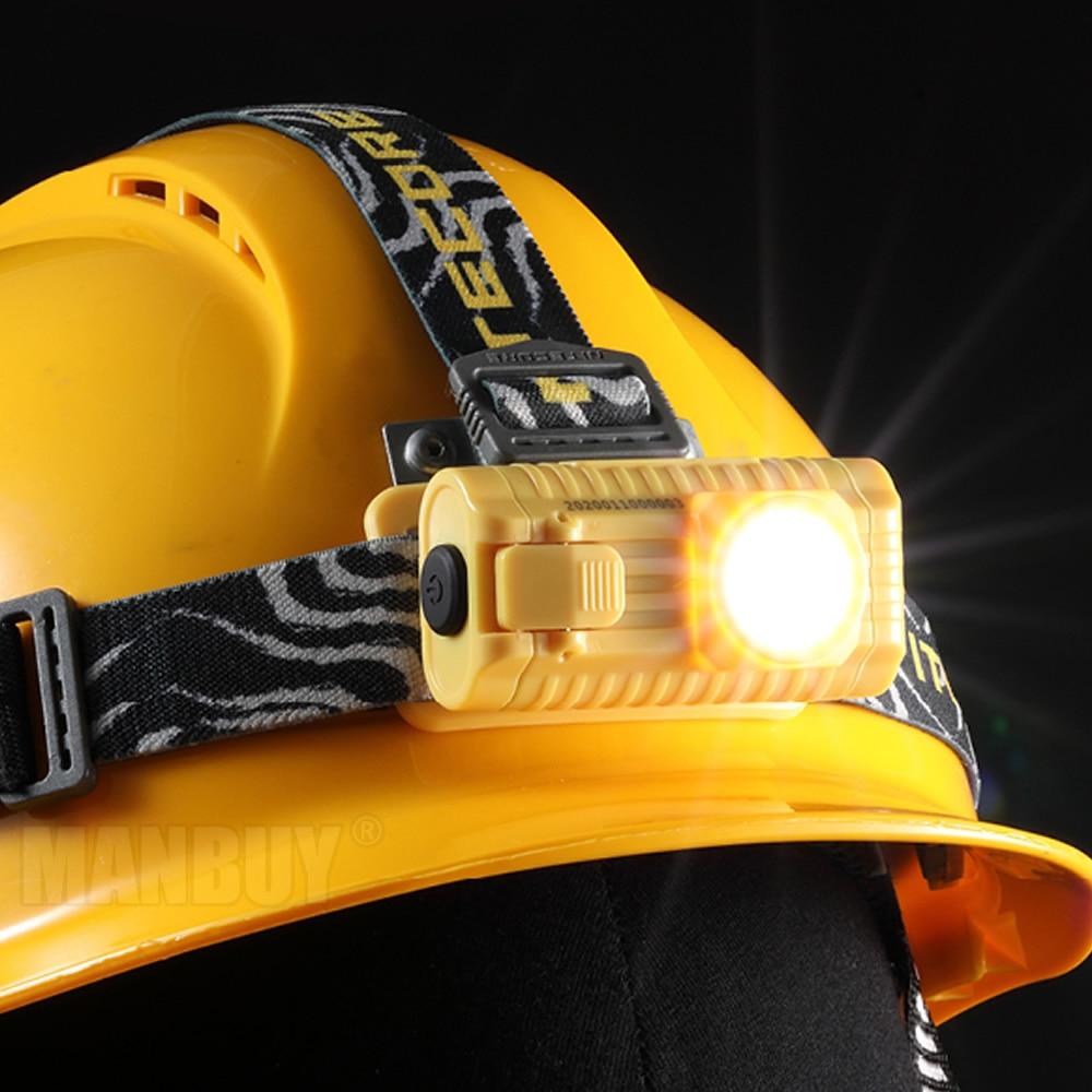 Nitecore HA23EX intrínsecamente seguro CREE XP-G 100 lúmenes LED utiliza 2x AA faro exterior trabajo Industrial luz intrínsecamente segura