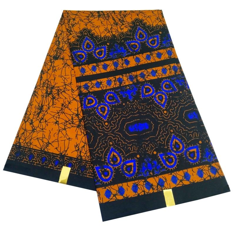 Африканская Анкара, полиэфирная ткань, высокое качество, новый дизайн, ткань для одежды, реальная горячая Распродажа, дизайн для пары