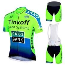 2020 Saxo Bank Tinkoff Ropa Ciclismo/ciclo Ropa Ciclismo Ropa deportiva/bicicleta de carreras Ropa Ciclismo Jersey 9D cuissard