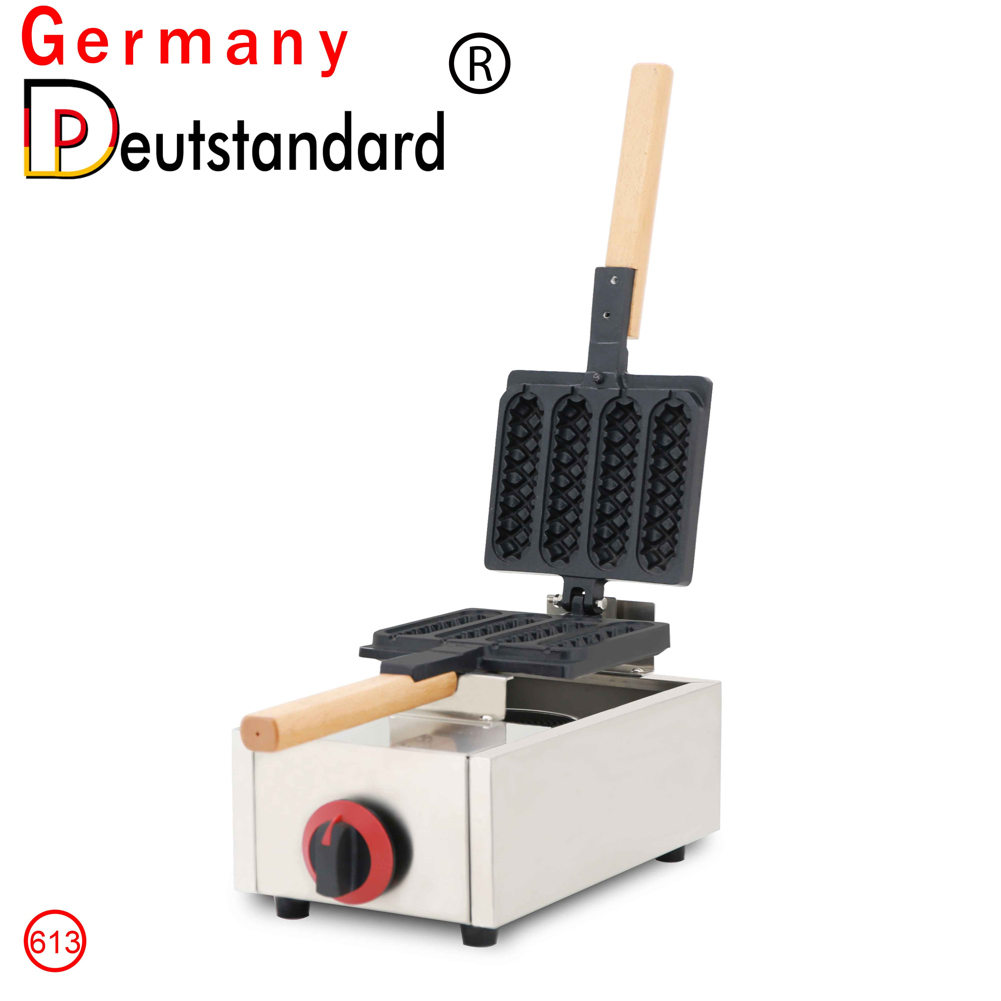 Commercial Gas Philippine Muffin Hot Dog Waffle Maker And Mini Muffin Hot Dog Waffle Stick Machine Baking Equipment With CE