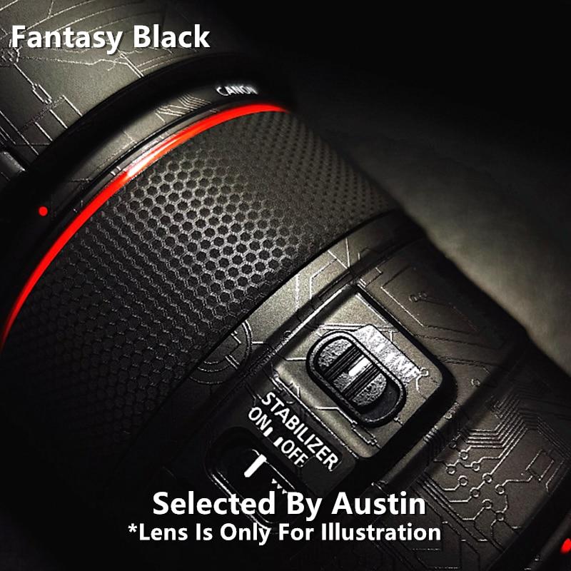 ملصق عدسة ممتاز لكاميرا كانون EF85 f/1.4L ، واقي عدسة مضاد للخدش ، غلاف واقي