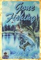 gone fishing fish bait tackle marina tin metal sign reproductions