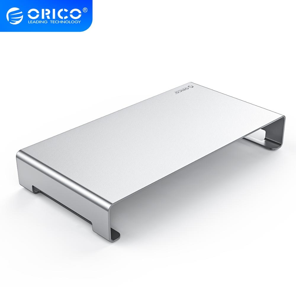 ORICO الألومنيوم الكمبيوتر المحمول حامل المعادن رصد حامل الناهض سطح المكتب حامل المنظم ل iMac ماك بوك الكمبيوتر المنزل مكتب