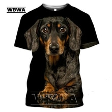 Dachshund เสื้อยืด Teckel เสื้อสำหรับชาย Dackel สุนัข3D T เสื้อพิมพ์ Tee เสื้อขนาดใหญ่ผู้หญิงน่ารักเสื้อผ้า Homme ...