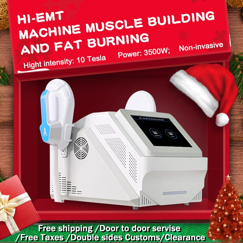 2020 Popular HI-EMT High-Intensity Emslim EMS Electromagnetic muscle Fat Burning Shaping Slim Muscle Trainer Beauty Equipment