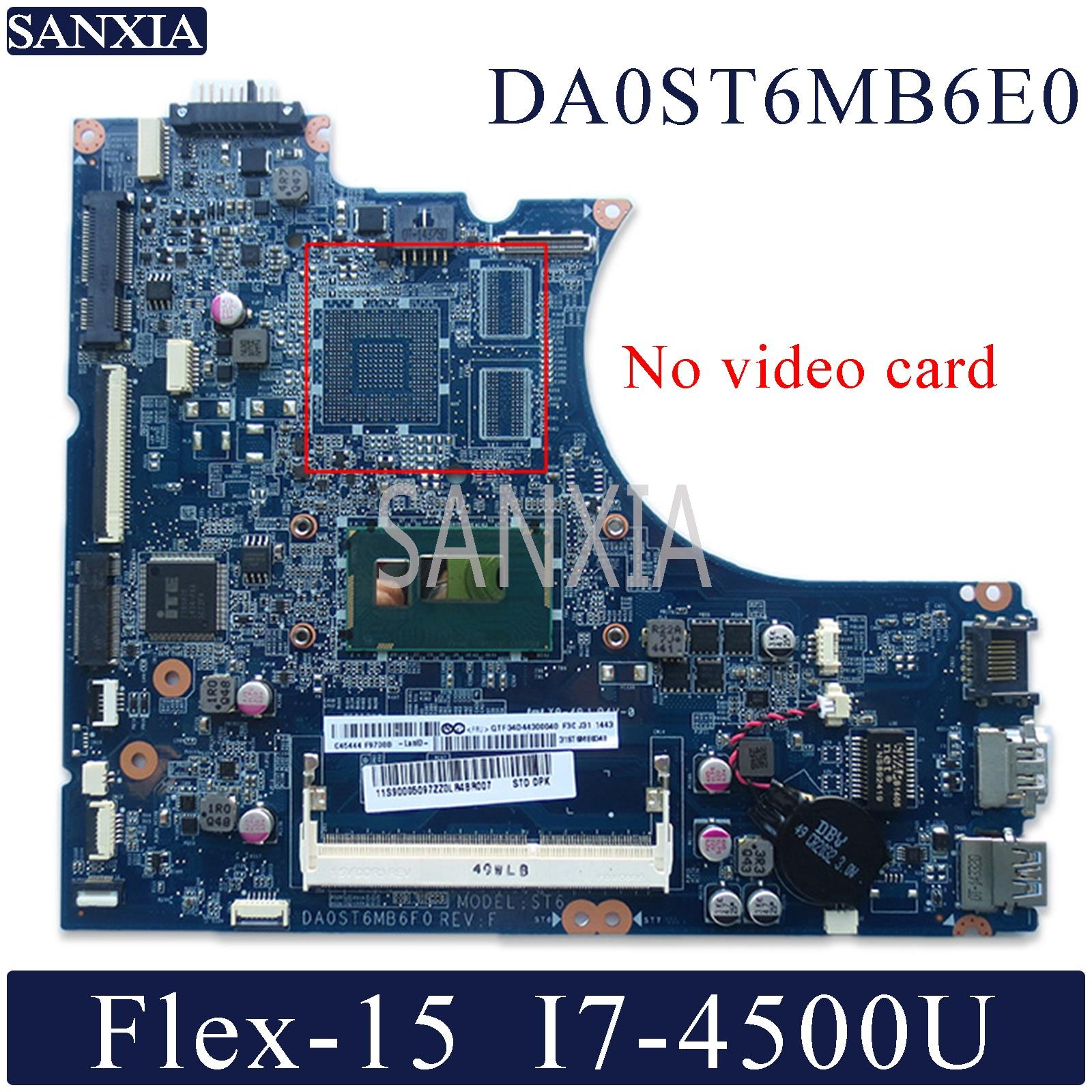 KEFU DA0ST6MB6E0 اللوحة المحمول لينوفو فليكس-14 اللوحة الأصلية I7-4500U
