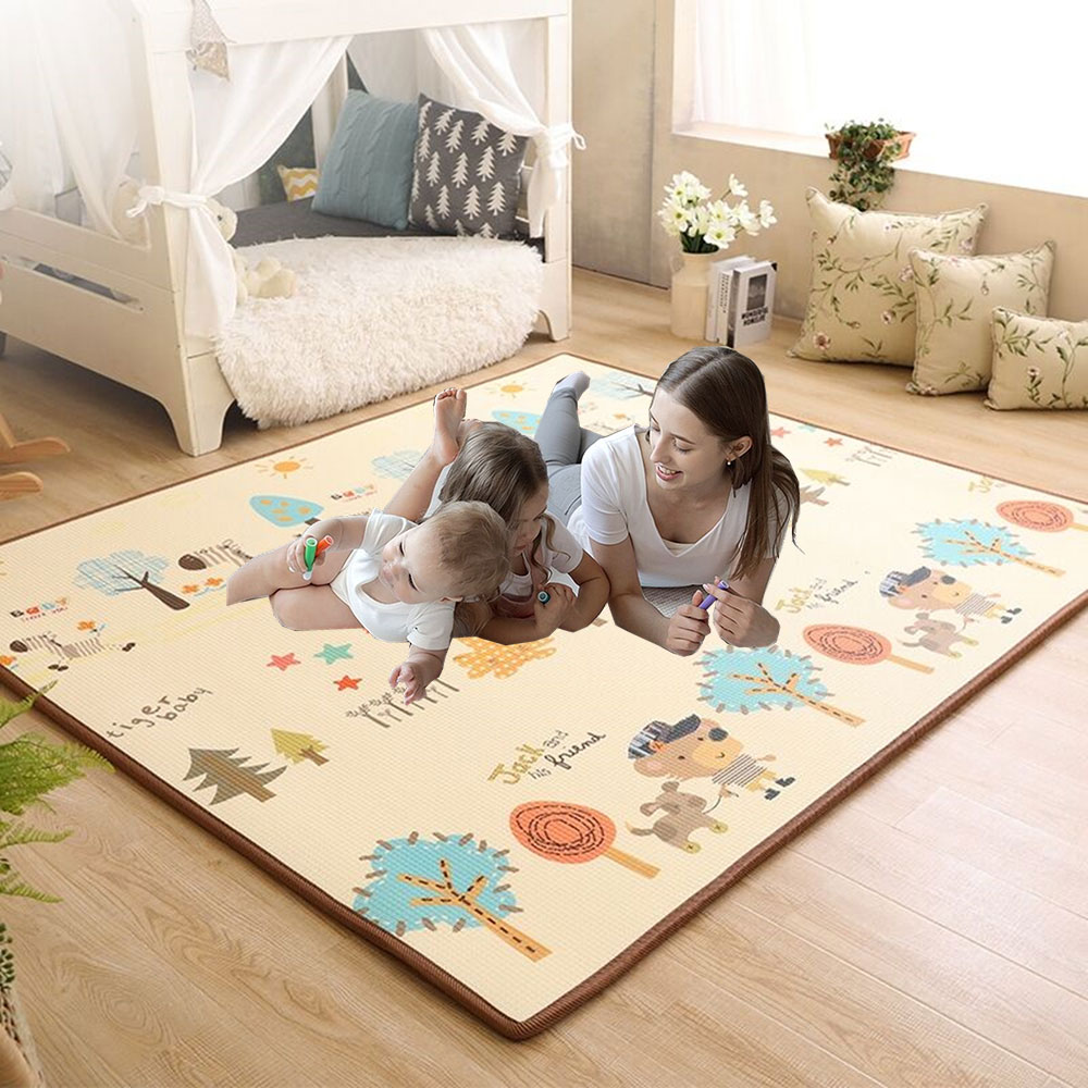 soft baby play mat baby activity gym educational toys kids carpet children playmat newborn babygym mat with frame Play Mat XPE Foam Crawling Carpet Baby Play Mat Blanket Children Rug for Kids Educational Toys Soft Activity Game Floor Soft