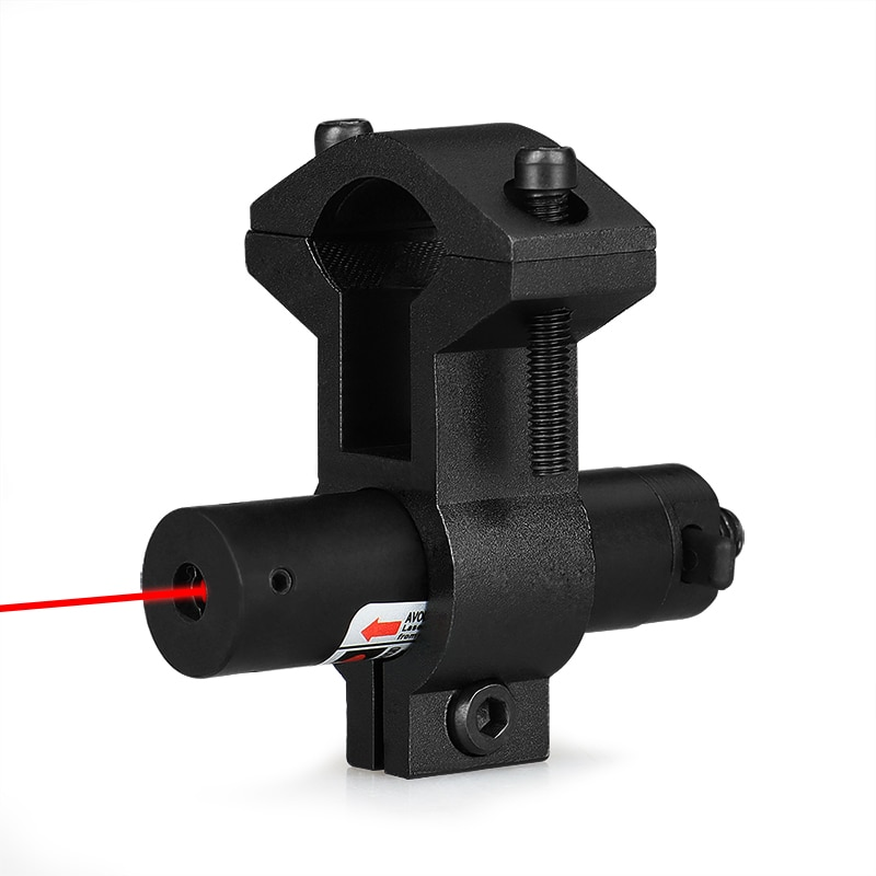 PPT 5mw Mini Red Laser Sight Laser Device Tactical Hunting Laser Pointer With Universal Barrel L Mount Adapter gs20-0014