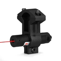 ppt 5mw mini red laser sight laser device tactical hunting laser pointer with universal barrel l mount adapter gs20 0014