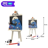moc creativity christmas fright nighting block drawing board decoration collection childrens toys ideas toys for boys gifts